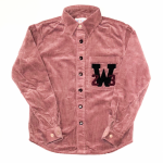W COLLEGE L/S SHIRTS / PINKの商品画像