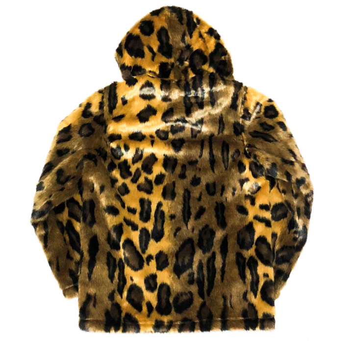RISE ABOVE – FUR HOODIE / LEOPARDの商品画像2