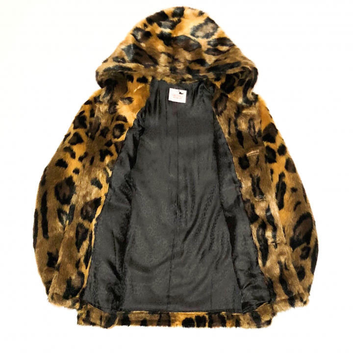 RISE ABOVE – FUR HOODIE / LEOPARDの商品画像5
