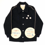 COMICAL PINBACK – JACKET / NAVYの商品画像