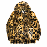 RISE ABOVE – FUR HOODIE / LEOPARDの商品画像