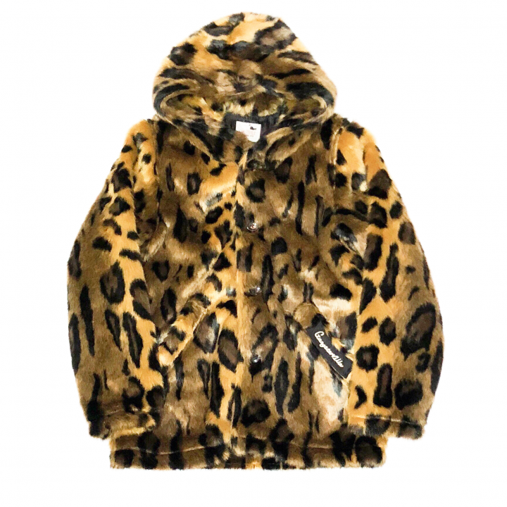 RISE ABOVE – FUR HOODIE / LEOPARDの商品画像1
