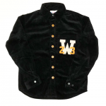 W COLLEGE L/S SHIRTS / BLACKの商品画像