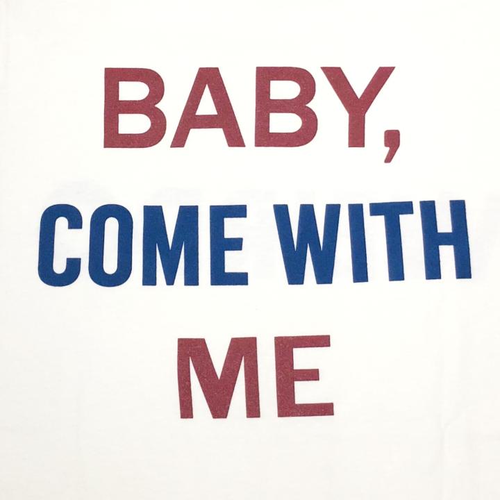 BABY PINBACK – L/S T-SHIRTS / WHITEの商品画像5