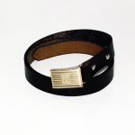 SLIDE LOCK BUCKLE BELT / BLACKの商品画像