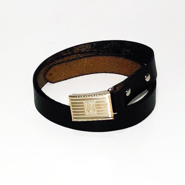 SLIDE LOCK BUCKLE BELT / BLACKの商品画像1