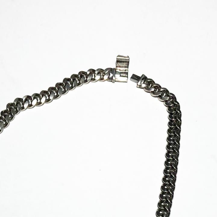 NARROW CHAIN NECKLACE / SILVER 925 / 50cmの商品画像3