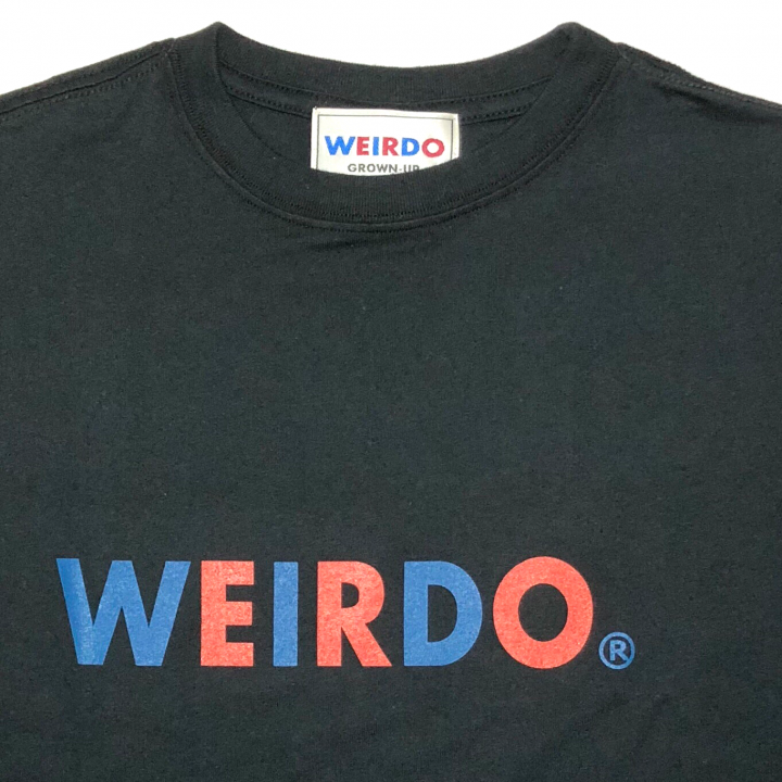 WEIRDO – L/S T-SHIRTS / BLACKの商品画像2