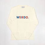 WEIRDO – L/S T-SHIRTS / WHITEの商品画像