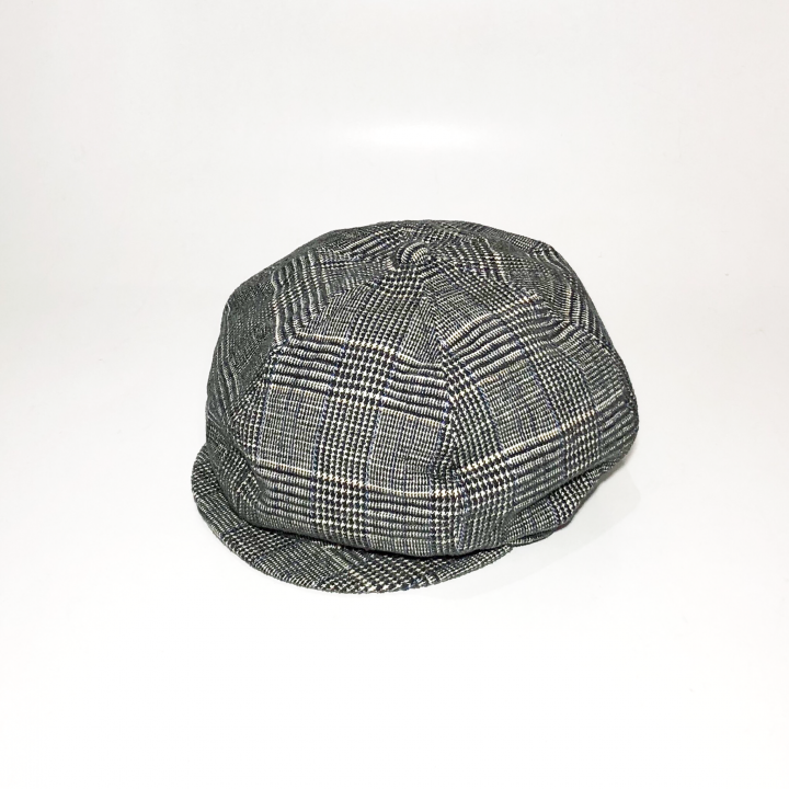 GROWN UP – CHECK CASQUETTE / BLACKの商品画像1