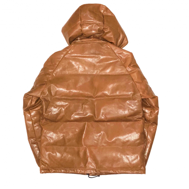 "GROWN UP – DOWN JACKET ""GOAT SKIN"" / BROWNの商品画像2"