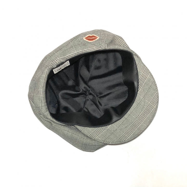 QUEEN OF THE NIGHT CLUBS – CHECK CASQUETTE / GRAYの商品画像2