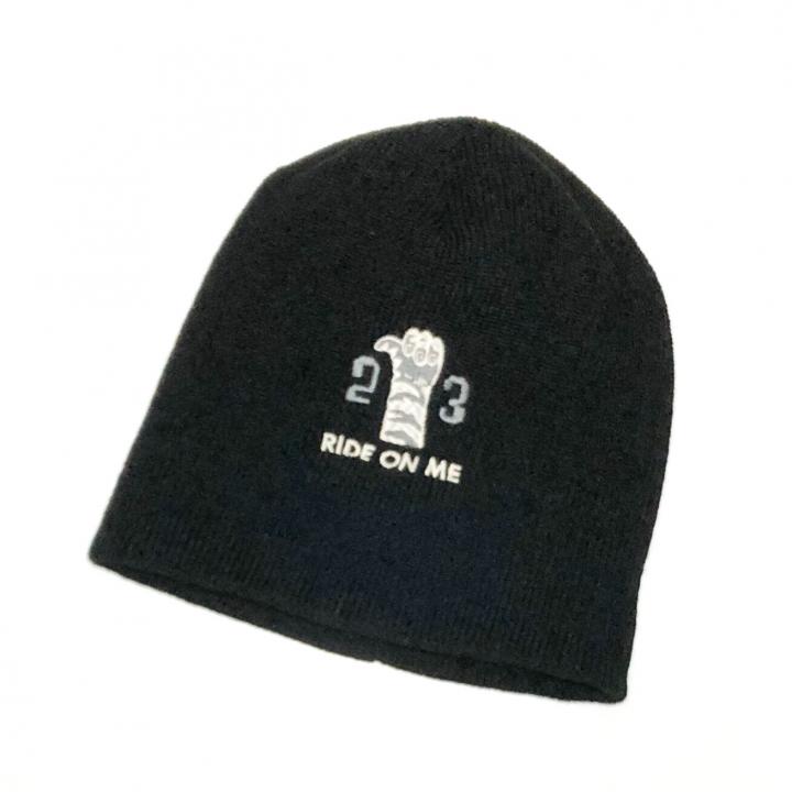 RINGING TIGER – KNIT CAP / BLACKの商品画像2