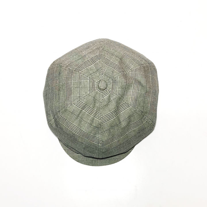 QUEEN OF THE NIGHT CLUBS – CHECK CASQUETTE / GRAYの商品画像3