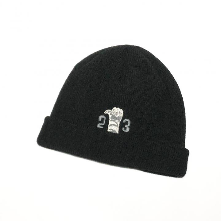 RINGING TIGER – KNIT CAP / BLACKの商品画像1