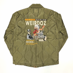 WEIRDOZ – QUILTING JACKET / KHAKIの商品画像