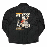 WEIRDOZ – QUILTING JACKET / BLACKの商品画像