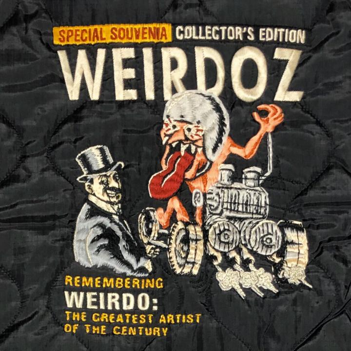WEIRDOZ – QUILTING JACKET / BLACKの商品画像5