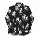 QUEEN OF THE NIGHT CLUBS – L/S SHIRTS / BLACKの商品画像