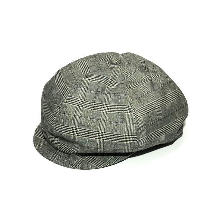 QUEEN OF THE NIGHT CLUBS – CHECK CASQUETTE / GRAYの商品画像1