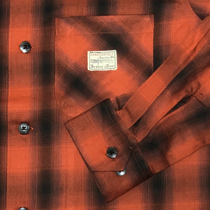 JACK – L/S CHECK SHIRTS / REDの商品画像5
