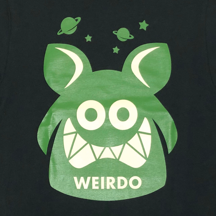 WEIRDO FINK – L/S T-SHIRTS / BLACK × GREENの商品画像4
