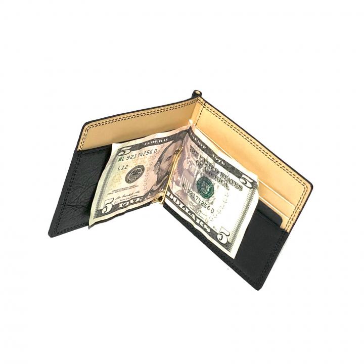 MONEY CLIP WALLET / BLACKの商品画像2
