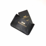 DOUBLE FLAP COIN CASE / BLACKの商品画像