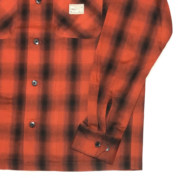 JACK – L/S CHECK SHIRTS / REDの商品画像4