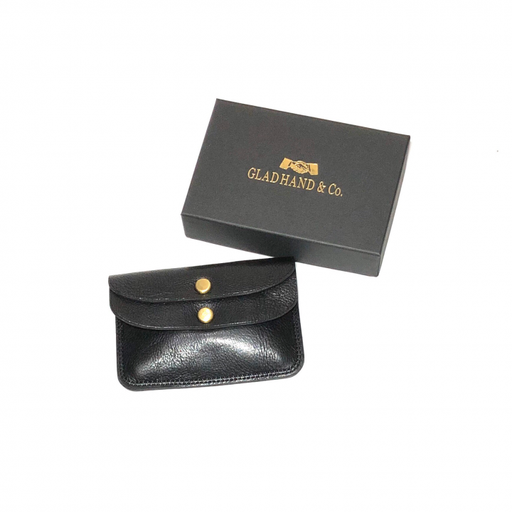 DOUBLE FLAP COIN CASE / BLACKの商品画像3