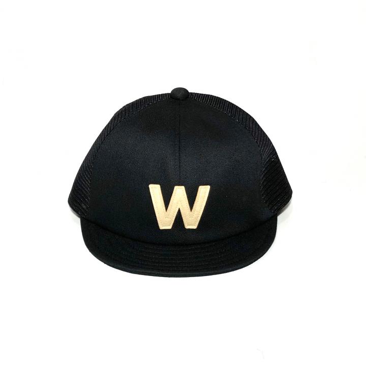 W – MESH CAP / BLACKの商品画像1