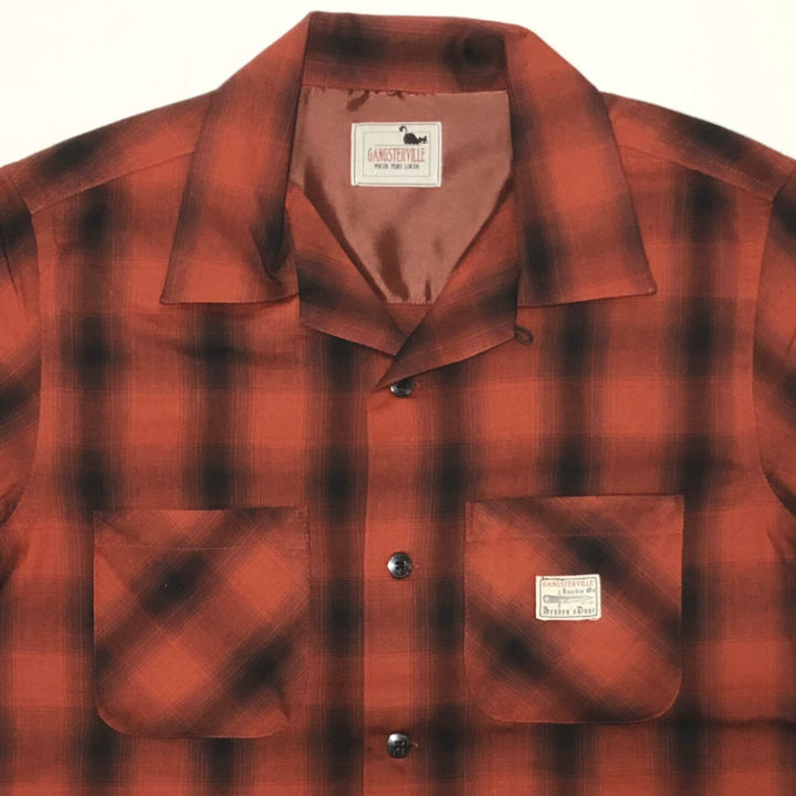 JACK – L/S CHECK SHIRTS / REDの商品画像3