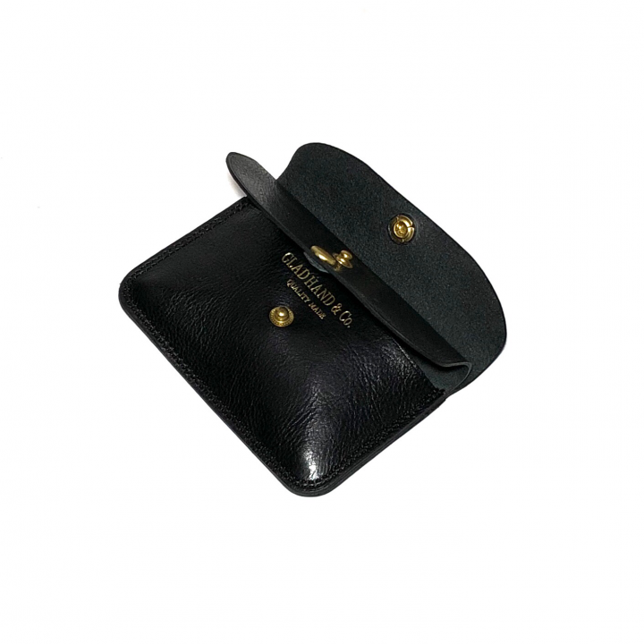 DOUBLE FLAP COIN CASE / BLACKの商品画像4