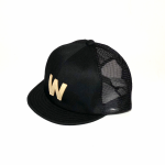 W – MESH CAP / BLACKの商品画像