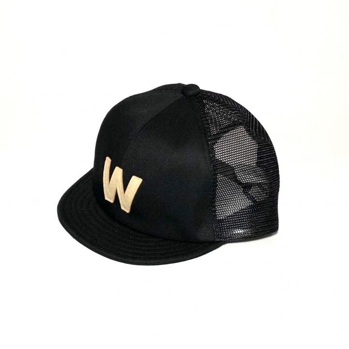 W – MESH CAP / BLACKの商品画像2