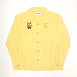 WEIRDOZ – L/S WORK SHIRTS / YELLOWの商品画像