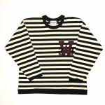 RINGING CLOWN –  L/S CREW NECK  / IVORYの商品画像