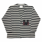 RINGING CLOWN – L/S CARDIGAN / GRAYの商品画像