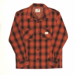 JACK – L/S CHECK SHIRTS / REDの商品画像