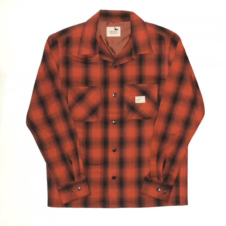 JACK – L/S CHECK SHIRTS / REDの商品画像1