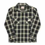 JACK – L/S CHECK SHIRTS / BLACKの商品画像