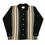 BOULEVARD – L/S CHECK SHIRTS / BLACKの商品画像