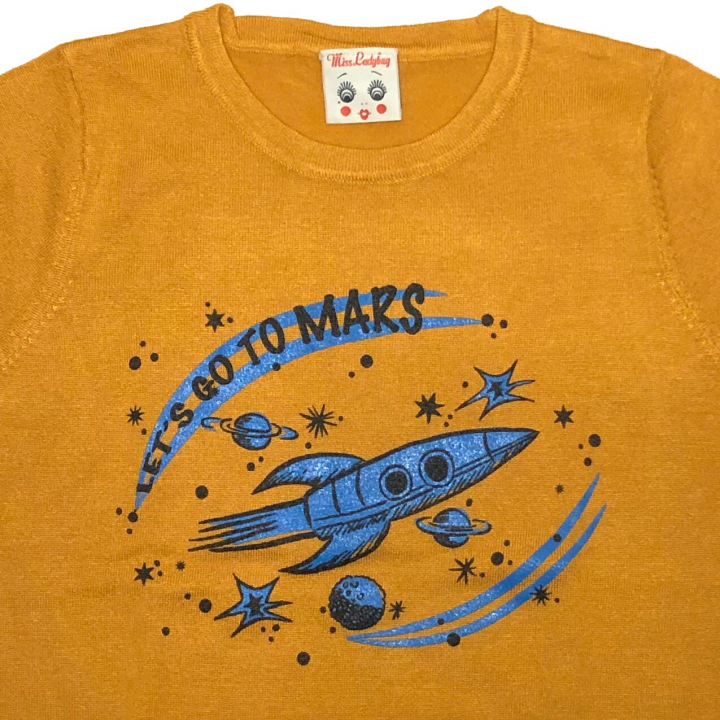 LET'S GO TO MARS – H/S SWEATERの商品画像3