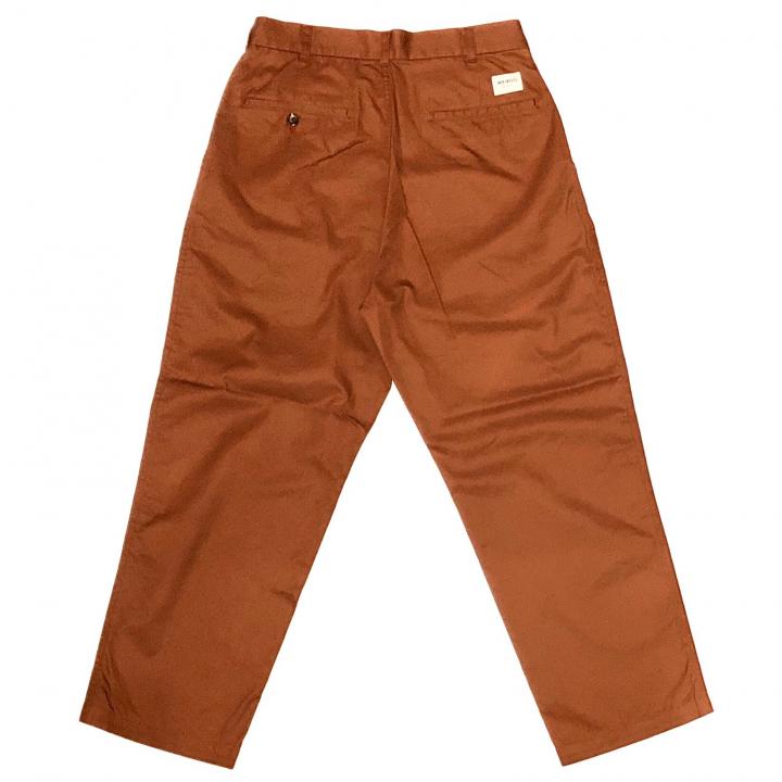 W & L UP – TACK PANTS / ORANGEの商品画像2