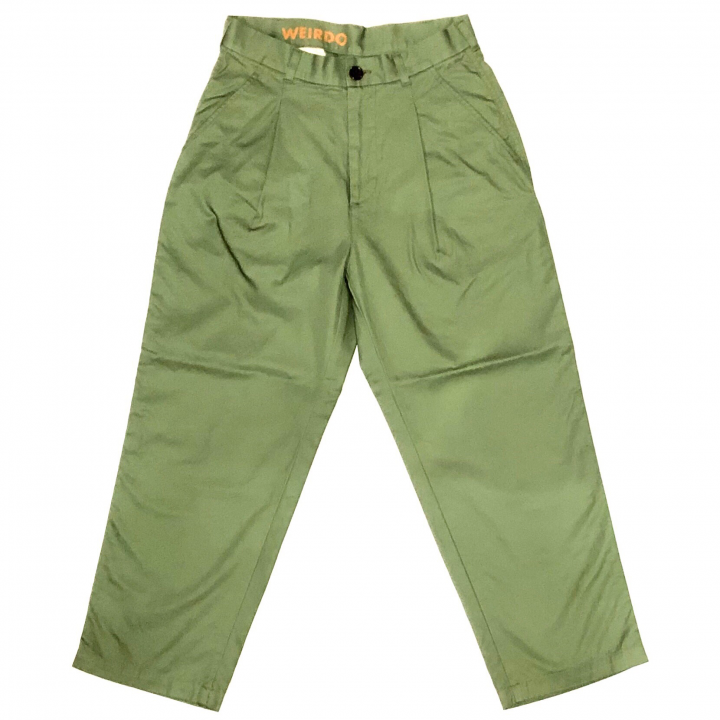 W & L UP – TACK PANTS / GREENの商品画像1