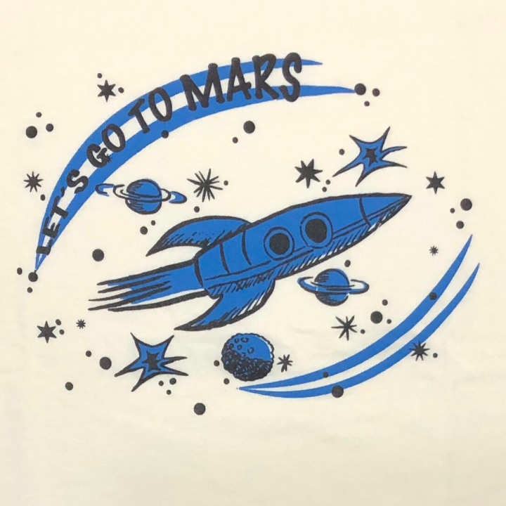 LET'S GO TO MARS – RINGER T – SHIRTSの商品画像4