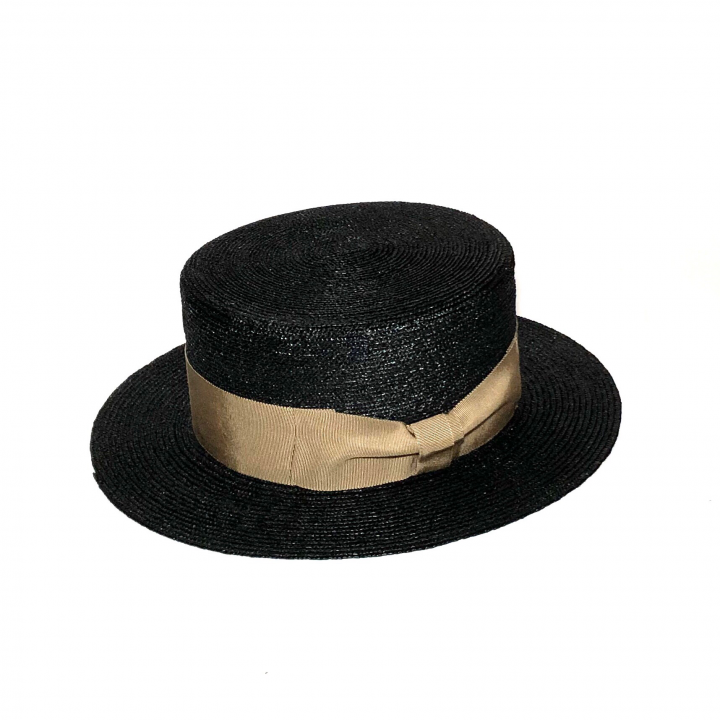 KISSING – BOATER HAT / BLACKの商品画像2