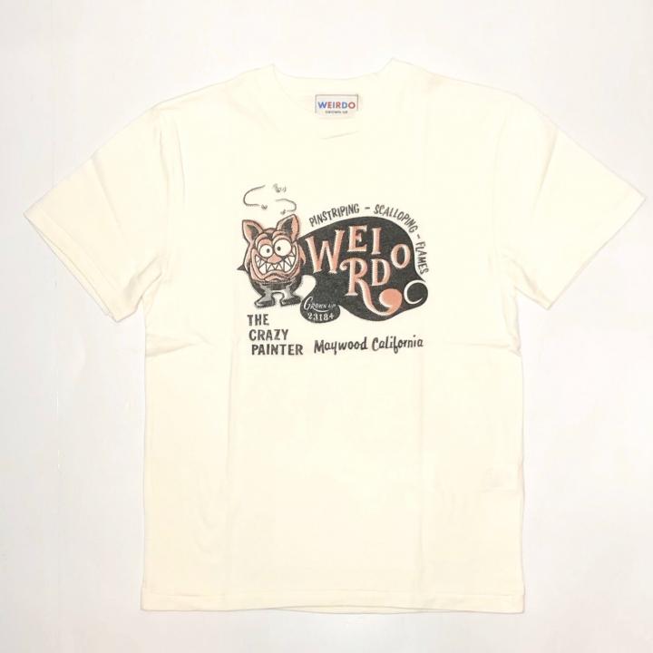 WEIRDO FINK CARD – S/S T-SHIRTS / WHITEの商品画像1