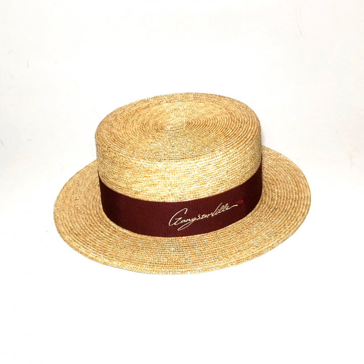 KISSING – BOATER HAT / NATURALの商品画像1