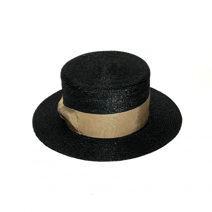 KISSING – BOATER HAT / BLACKの商品画像3